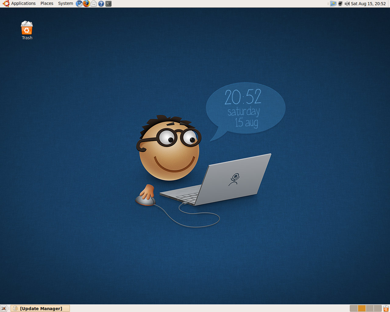 How to create your own wallpaper clock on ubuntu ubuntu for Design your own wallpaper